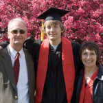 Ross' UW-Madison Graduation
